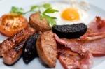 Renvyle House Hotel & Resort's Full Irish Breakfast. Located on the shores of the Wild Altantic Way, Connemara, Co. Galway.