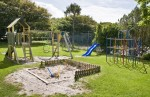 Children's Playground at Renvyle House Hotel & Resort, Connemara, Co. Galway.