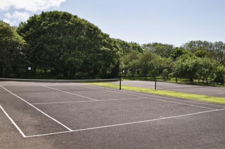 Tennis Courts | available to residents staying in the Holiday Lodges at Renvyle House
